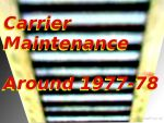 197x Carrier Maintenance