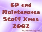 2002 CP and Maintenance Staff Xmas
