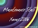 2006 Maintenance Staff Xmas