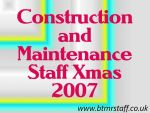2007 Construction and Maintenance Staff Xmas