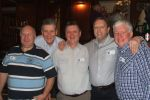 Allan Carter, Charlie Thompson, Bob ?, Dave Massey and Kev Bolton