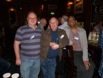Graham Whiteside, Mike Gregory and Jag Patel