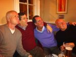 Ray Thorley, Stuart Cameron, Dave Law and Vinny Collins