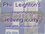 2015  Phil Leighton's leaving doo