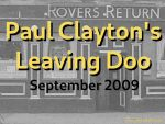 2019 Paul Clayton's leaving doo